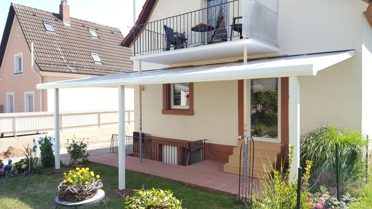 Hera Markisen Wie Kann Ich Meine Terrasse Unter Einem Balkon